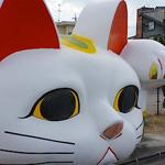 巨大 招き猫 とこにゃん に会いに(愛知県常滑市)行ってきたよ♪|【看板猫】のんちゃん店長