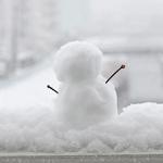 雪だるま出現!?とバレンタインデー