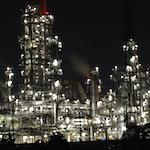 【デジタルカメラで撮る夜景美】工場夜景&夜明け(三重県四日市)を撮影しに行ったよ♪