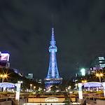 【デジタルカメラで撮る夜景美】名古屋テレビ塔&黒川インターチェンジ(愛知県名古屋市)を撮影しに行ったよ♪|春のお花♪ EF100mm F2.8Lマクロ IS USM