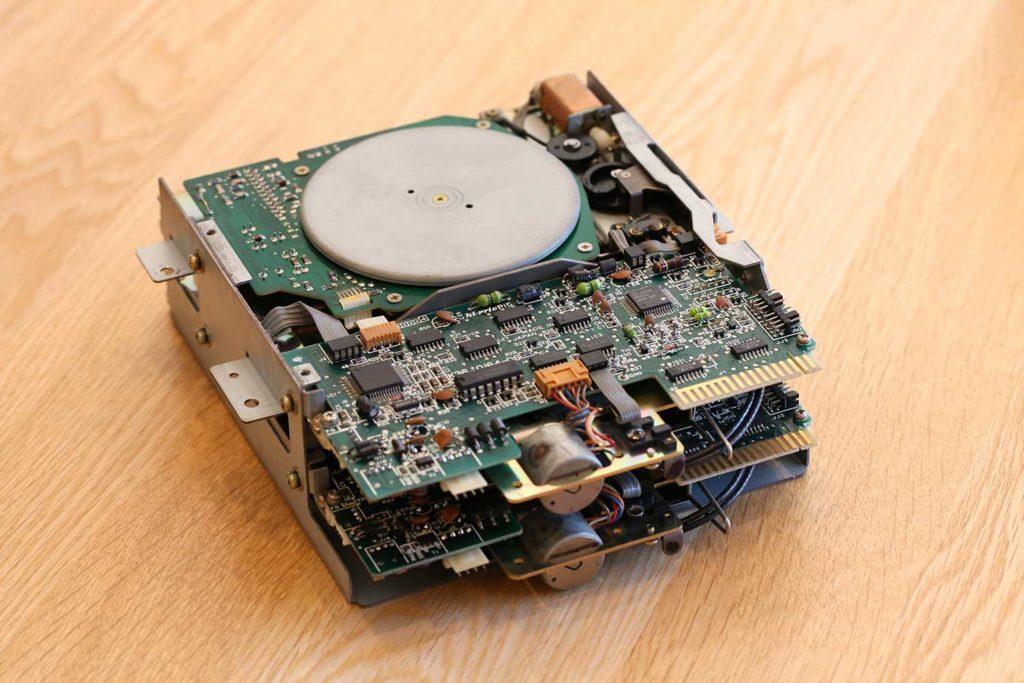 SHARP X68000 CZ-600C FDD K-61432-71 フロッピーディスクドライブ 修理