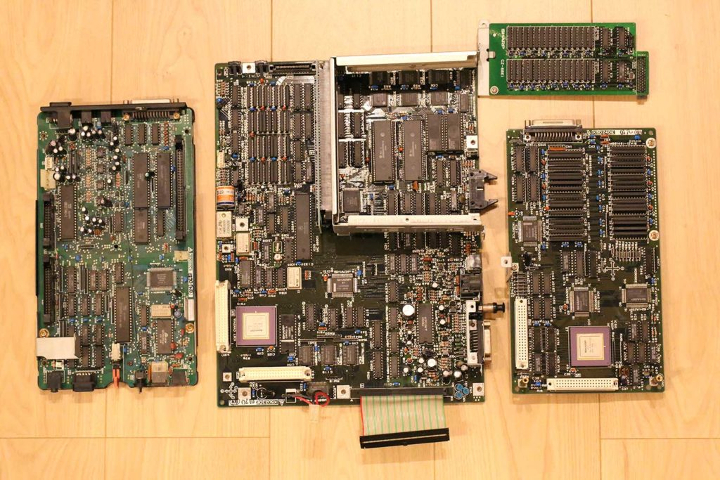 SHARP X68000 CZ-600C motherboard マザーボード 修理