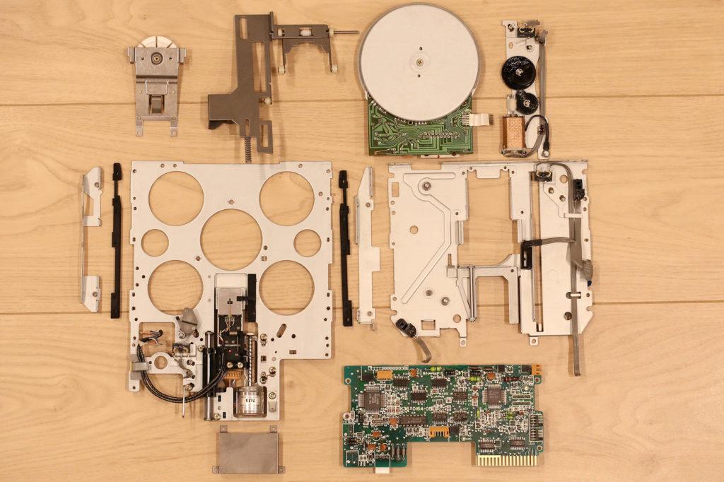 X68000 FDD Repair K61432-71 K61432-72 修理 メンテナンス