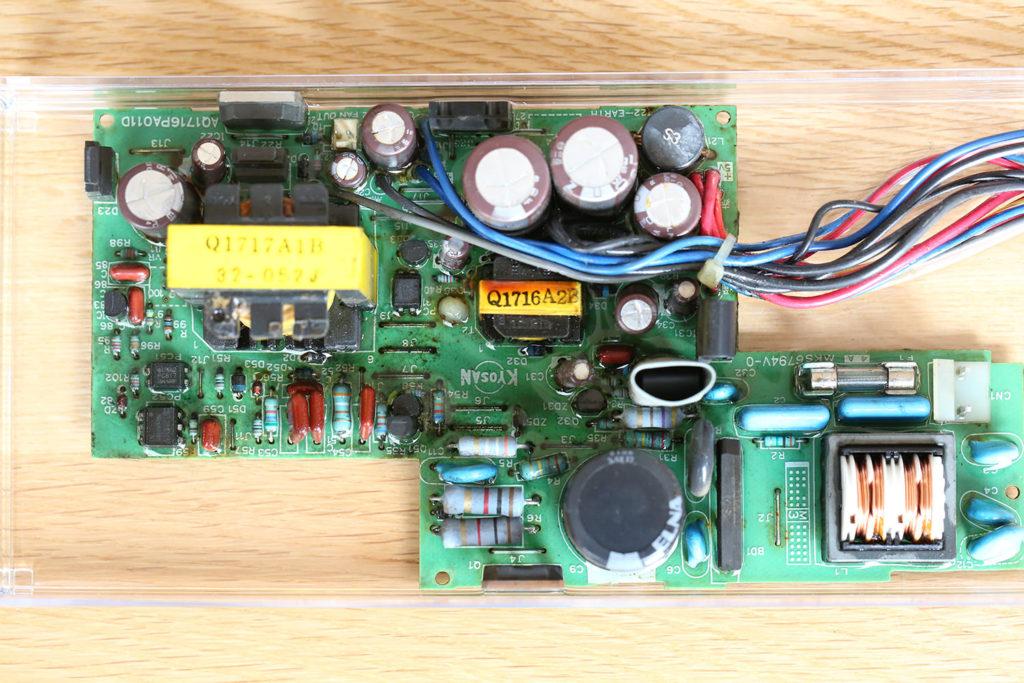 SHARP X68000 SUPER CZ-604C CZ-623C 電源ユニット SH4 修理