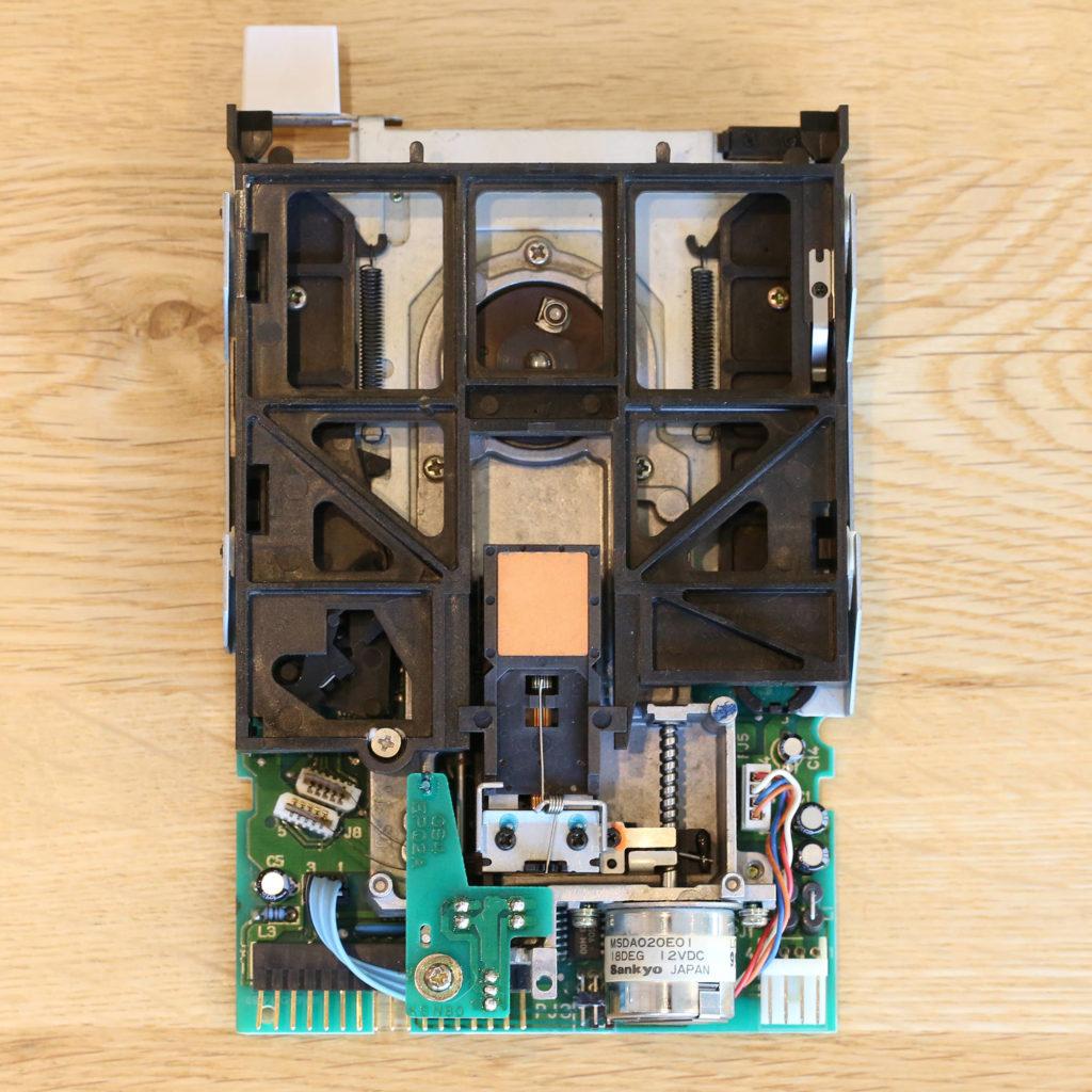 Amiga 500 3000 FDD Floppy Disk Drive Chinon FB-354 Restoration